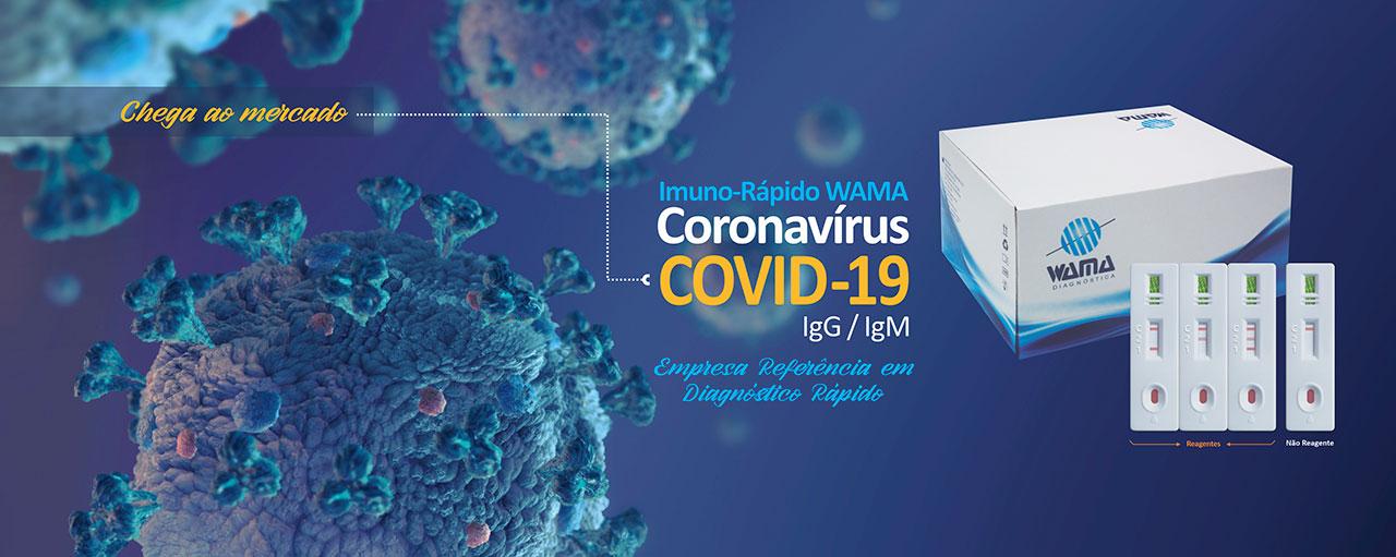 Covid 19 - Teste Rápido - Wama Diagnóstica