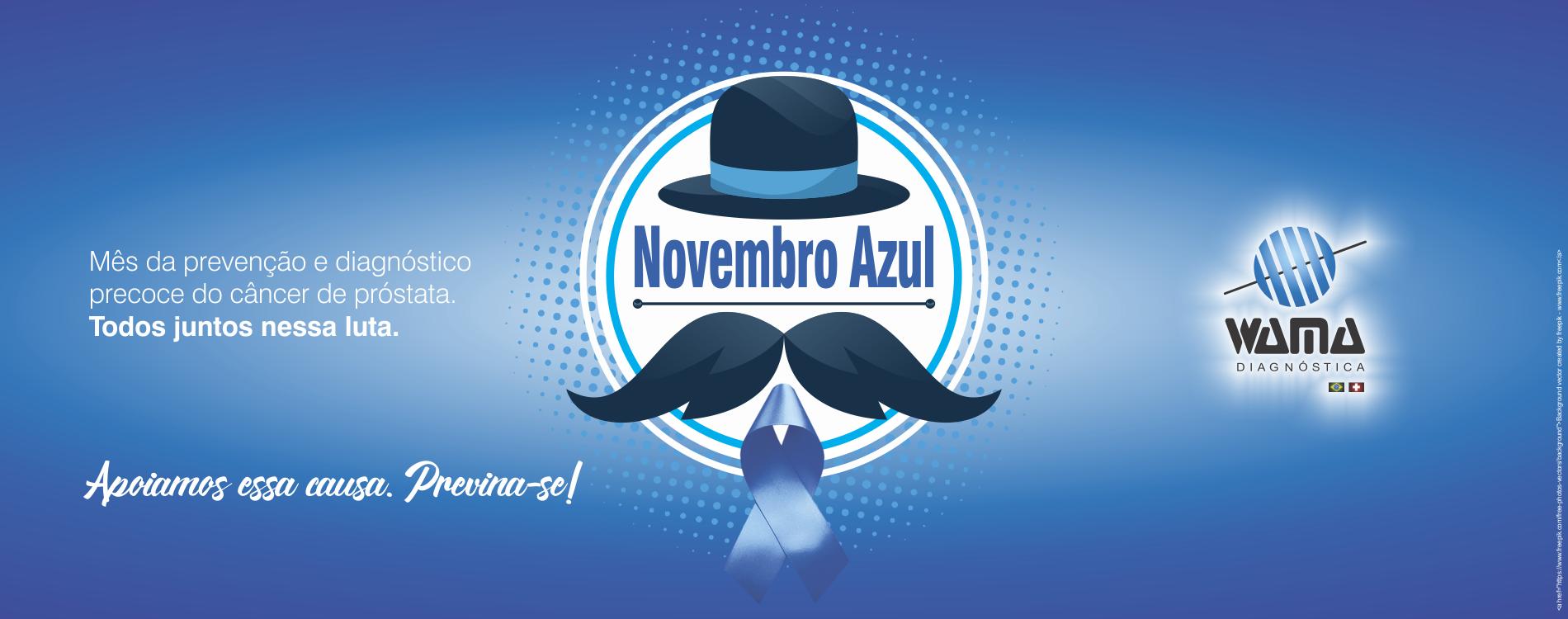 Wama Novembro Azul 2019