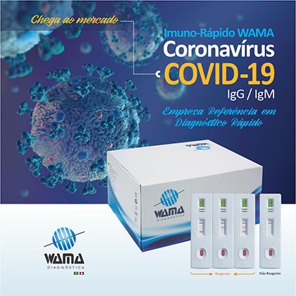 Coronavírus Covid 19 Wama Diagnóstica