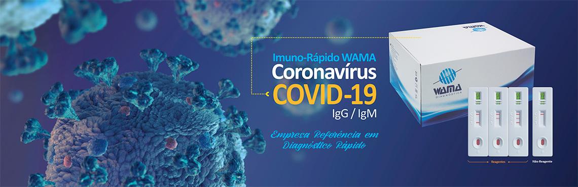 Covid 19 Teste Rápido Wama Diagnóstica